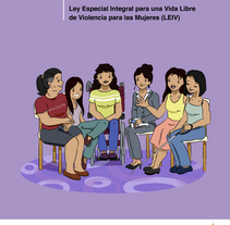 Ilustraciones para guía prevención violencia machista de El Salvador. A Illustration project by Mònica  Roca - 24-04-2017
