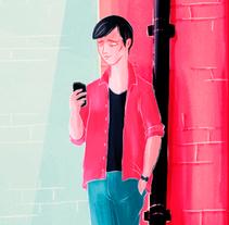 Pepe Jeans - Portobello Journey. Um projeto de Design, Ilustração, Publicidade, Motion Graphics, Cinema, Vídeo e TV, Animação, Direção de arte, Design de personagens, Consultoria criativa, Pós-produção, Vídeo, Design de som, Produção e Animación de personajes de offbeatestudio         - 25.04.2017