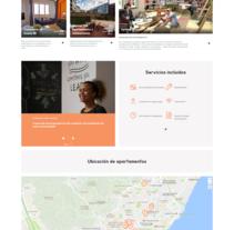 Pisos Estudiantes Barcelona. Un proyecto de Diseño Web de La Teva Web Diseño Web  - 27-04-2017