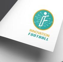 Diseño de logotipo y triptico para concepto de innovación en el futbol. A Graphic Design project by Carlos Gata Cabello         - 01.05.2017