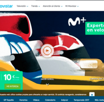Movistar + F1. A Design, Motion Graphics, Animation, and Character animation project by Margarito Flores Rosales - 09-05-2017