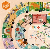 The Barcelona Game. Un proyecto de Ilustración y Diseño gráfico de Aina Pongiluppi Gomila         - 15.03.2017