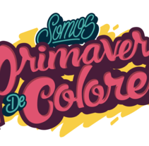 PRIMAVERA DE COLORES. A Lettering project by Jonathan Oda - 15-05-2017