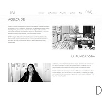 Daye Design. A UI / UX, Web Design, and Web Development project by Pablo Núñez Argudo         - 15.06.2016