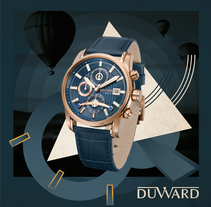 RELOJES DUWARD - Diseño gráfico. A Illustration, Advertising, and Graphic Design project by Not On Earth - Marc Soler - 29-05-2017