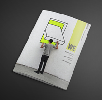 Revista We. A Design, Editorial Design, Graphic Design, T, pograph, and Writing project by Cristina López         - 30.05.2017