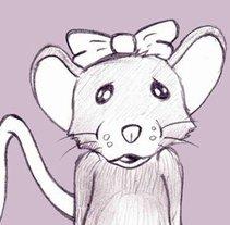 La Ratita que abandonó su lacito. A Illustration project by David Pérez López         - 22.02.2014