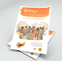 Cartelería y Portadas - Curso de Biodanza . Un proyecto de Ilustración, Diseño editorial, Eventos y Diseño gráfico de Javier  A.G. - 24-03-2017