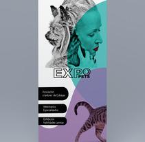 Roll up banner design. Um projeto de Publicidade e Design gráfico de daniela seo villalba         - 08.06.2017