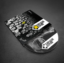 CD Demo The Spammers. Un proyecto de Diseño, Br, ing e Identidad, Tipografía y Lettering de Refrito Studio  - 14-06-2017