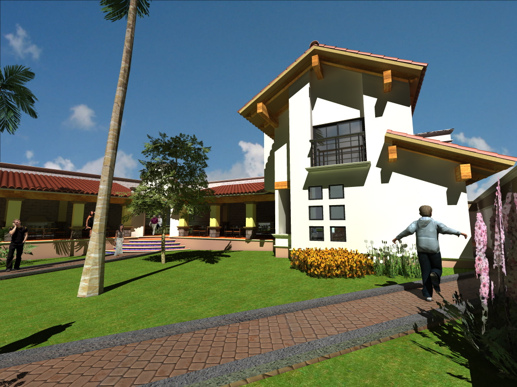 Proyecto casa de campo domestika for Proyectos de casas