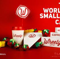 Wheelys Café / Guatemala . Un proyecto de Dirección de arte, Diseño gráfico, Diseño de producto y Paper craft de Carlos  chong - 19-06-2017