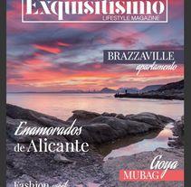 Maquetación revista Exquisitísimo. Um projeto de Design editorial de Ana García         - 26.06.2017