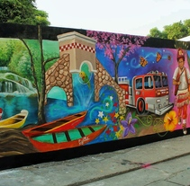 Fenix art Ciudad Valles. A Fine Art, Painting, and Street Art project by Héctor Armando Domínguez Rodríguez - 26-06-2017