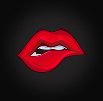 Ilustración Vectorial, Sexy Lips.. A Vector illustration project by Ruben Bretones - 28-06-2017
