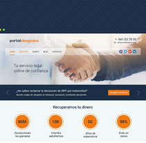 Portalabogados. A UI / UX, and Web Design project by Juan Antonio de Val         - 30.05.2017