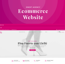 Llellé Ecommerce WEbsite. A UI / UX, Information Architecture, Interactive Design, Web Design, and Web Development project by Adrián Miranda Rodríguez         - 07.07.2017