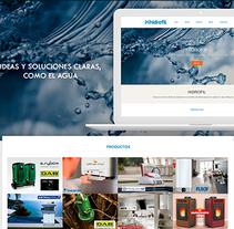Diseño Web - Hidrofil. A Web Development project by Milagros Sánchez Fernández         - 01.02.2017