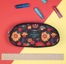 Cartucheras. Um projeto de Ilustração e Diseño de patrones de Laura Varsky         - 13.07.2017