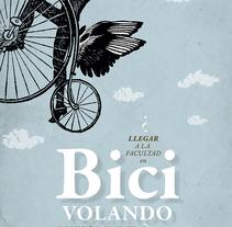 Exposición bicicleta. Universidad Granada. A Graphic Design project by PERRORARO  - 17-07-2016