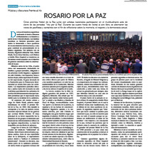 Rosario por la paz. A Events project by Malén D'Urso         - 24.06.2017