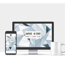Portfolio · Amparo M-Conde Product & Graphic Design. Un proyecto de Diseño, Diseño gráfico y Diseño Web de Amparo  M-Conde - 19-07-2017