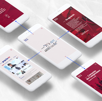 SITE POPIN GROUP. A UI / UX, Art Direction, and Web Design project by ElTrece (-_-    ) - 29-08-2017