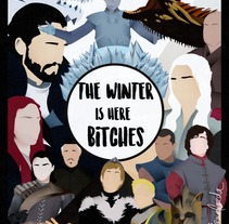 The winter is here. A Illustration, Advertising, Film, Video, TV, Editorial Design, and TV project by marialamalvada         - 27.07.2017