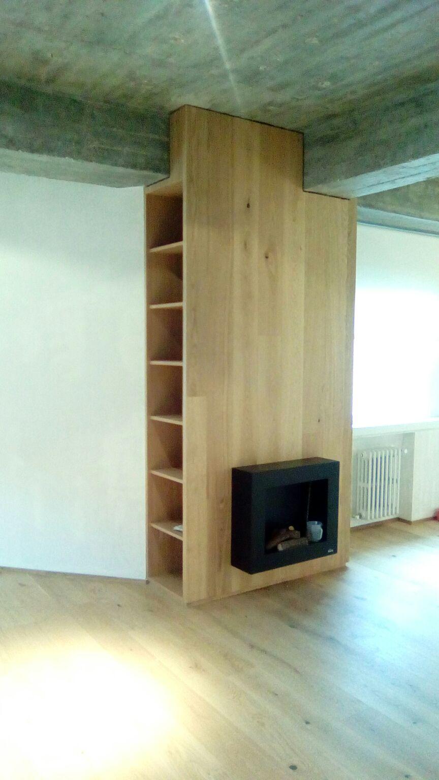 Mueble de chimenea domestika - Muebles para chimenea ...