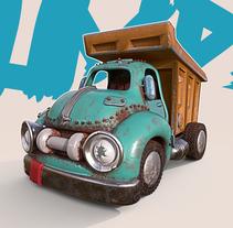 Zomlings Car Concept. Um projeto de 3D e Design de brinquedos de comics26 - 01-08-2017