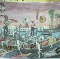 TRANSFERENCIA, ACUARELAS Y COLLAGE. Un proyecto de Ilustración de Luciana Garcilazo - 09-08-2017
