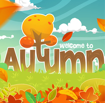 AUTUMN concept-game. A Illustration, and Game Design project by comics26 - 13-08-2017