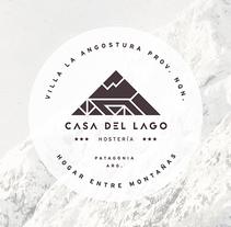 CASA DEL LAGO - Branding. Un proyecto de Br, ing e Identidad y Diseño gráfico de Matias Harina - 17-08-2017