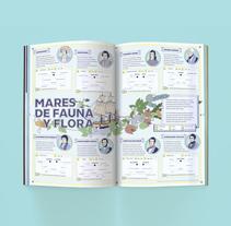 Infografía Mares de Fauna y Flora . Um projeto de Infografia de el abrelatas          - 17.08.2017