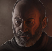 Ser Davos Seaworth. A Illustration project by Rubén Megido         - 23.08.2017