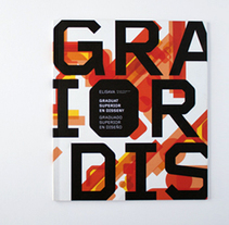 Portadas Grado Superior ELISAVA. Um projeto de Design gráfico e Ilustración vectorial de Patricia Fernández         - 10.09.2009