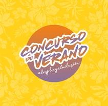 CONCURSO DE VERANO #despliegatuilusión. Un proyecto de Diseño, Ilustración, Diseño gráfico y Social Media de DIKA estudio         - 25.08.2017