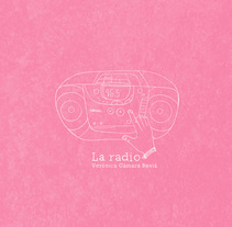 La Radio. A Illustration, Editorial Design, and Comic project by Verónica Cámara Beviá - 31-08-2017
