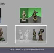 Photogrammetry. Un proyecto de 3D de Gerald Degrelle Garcia         - 06.09.2017