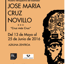 cartel CRUZ NOVILLO.. A Graphic Design project by Tania Villegas         - 08.09.2017