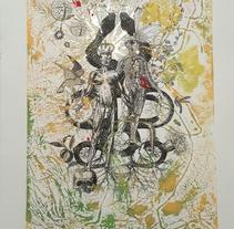 Unidad dentro de la dualidad: Técnicas experimentales de ilustración: de lo digital a lo artesanal. Un proyecto de Ilustración de Cris Glez - 19-09-2017
