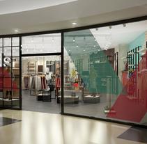 Tiendas Brandshop. A 3D, Animation, Architecture, Interior Architecture&Interior Design project by jordi reglá         - 18.09.2017