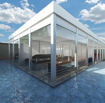 funeraria . A 3D, Architecture, Interior Architecture&Interior Design project by jordi reglá         - 18.09.2017