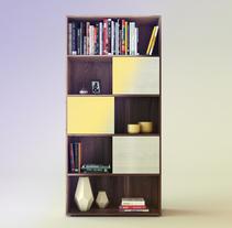 Biblioteca Proyecto 1A. Um projeto de Design de móveis de Juan Caballero - 19-09-2017