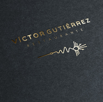 Restaurante Víctor Gutiérrez. A Design, Illustration, Br, ing&Identit project by Julio Ríos - 20-09-2017