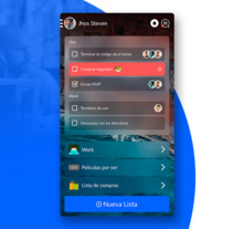 To-Do app. A UI / UX project by Carlos Pérez         - 22.09.2017