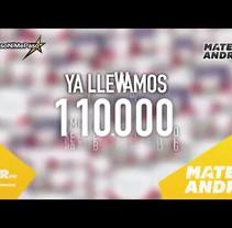 Mateo&Andrea: Vídeo Recopilación Firmas #NiPasoNiMePaso. A Motion Graphics project by David Páramo Reina         - 23.09.2017