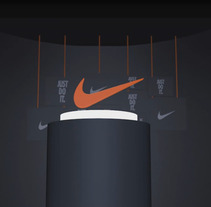 NIKE - FAN ART COMMMERCIAL. A Motion Graphics project by Ignacio González Rico         - 25.09.2017