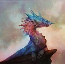 Dragon. Un proyecto de Ilustración de Susana          - 02.10.2017