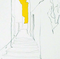 CALLE AMARILLA. Un proyecto de Ilustración de Ekain J.         - 04.10.2017